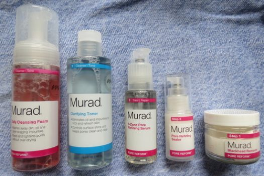 Review: Murad's New Pore Reform Line (For Oily Skin)