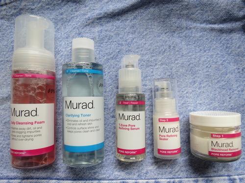 Review: Murad's New Pore Reform Line (For Oily Skin)