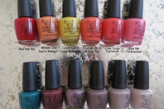 Review: OPI Brazil Spring/Summer Collection