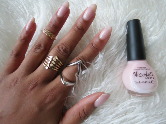 how to get an almond shape with natural nails mckenzie renae