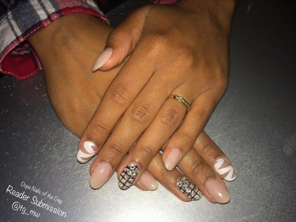 Dope Nails of The Day: Ashley's Submission