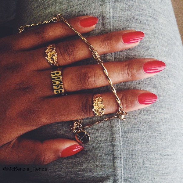 Dope Nails of the Day: Bawse