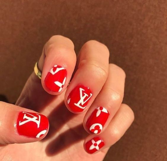 Dope Nails of the Day: Louis Vuitton